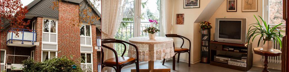 Haus Ilse Noderstedt | staatlich anerkannte geschlossene gerontopsychiatrische Fachpflegeeinrichtung.